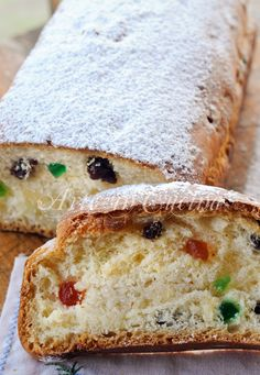 Stollen ricetta originale dolce natalizio tedesco vickyart arte in cucina