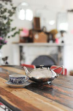 vintage tea pot. Visit teabox.com to order #tea online!