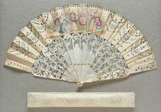 Fan  French, 18th century