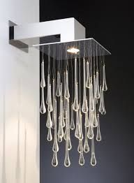 Jos Muller created the whimsical design of Doccia wall lamp which inspired by the water drops for Quasar. By Doccia Wall Lamp Interior Lighting Design Wall Mount Light Fixture, Light Fixtures, Unique Lighting, Lighting Design, Lighting Ideas, Interior Lighting, Home Lighting, Outdoor Lighting, Bathroom Lighting