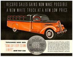 1937 White Truck