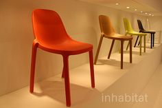 Emeco recycled chair