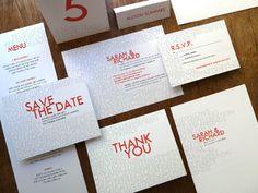 Printable Complete Wedding Invitation Kit - Love and Happiness. $149.00, via Etsy.