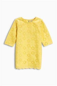 Broderie Dress (3-16yrs) (374240G65) | £20 - £26