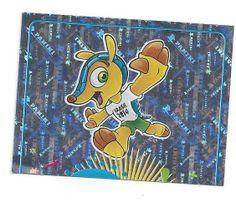 FIFA WM 2014 World Cup Brasil Panini Sticker Nr. 4  glanz Oberteil Bonus Code