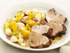 Take a trip down memory lane with this take on a classic Americana pairing: pork and apples.