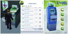 Mod The Sims: ATM Cards for Sale by Zooroo • Sims 4 Downloads