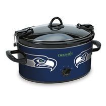 Seattle Seahawks NFL Crock-Pot® Cook & Carry™ Slow Cooker. I want this!