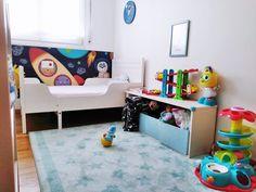 Dormitorio de niño los cost. Habitación infantil barata.