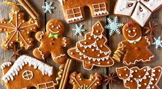 Bake with love this festive season with this Christmas Gingerbread recipe. Kick start your celebrations with this delightful Christmas Gingerbread recipe, the only difficulty is choosing whether to create Gingerbread men, angels or stars. Easy Gingerbread Cookies, How To Make Gingerbread, Christmas Gingerbread, Merry Christmas, Christmas Smells, Gingerbread Men, Christmas Mood, Coco Cookies, Fruit Cookies