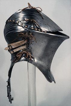 Medieval Armour and Shields Helmet Armor, Arm Armor, Body Armor, Medieval Knight, Medieval Armor, Medieval Fantasy, Armadura Medieval, Knight In Shining Armor, Knight Armor