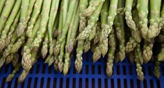 favourite time of year - asparagus - #fabulousfruitandveggies #5aday #mannafromdevon