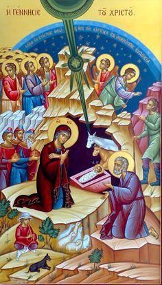 Nativity of Christ by Stelios Stelios of Cyprus