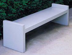 Model TF5025 | 6' Precast Concrete Bench