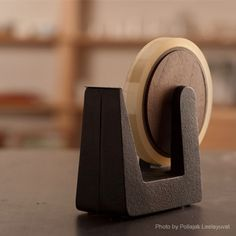 Tetu Cast Iron Tape Dispenser — ACCESSORIES -- Better Living Through Design