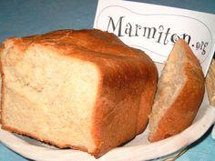 Recette Pain de mie - Machine à pain