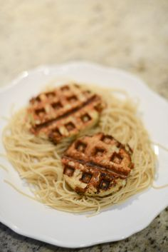 Clever idea: Make healthy Eggplant Parmesan in a waffle iron.