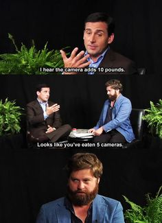 Between two ferns = <3