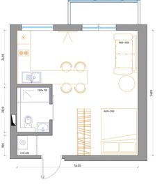 A sample from the book Tiny House Floor Plans. 8x20 Tiny House with on sample database, sample doc, sample software,