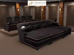 Cavallo Symphony Luxury Home Theater Seating luxus Cavallo Symphony Ch. Cavallo Symphony Luxury Home Theater Seating luxus Cavallo Symphony Ch… – Heimkino Home Theater Room Design, Home Cinema Room, Home Theater Furniture, Home Theater Decor, At Home Movie Theater, Home Theater Rooms, Home Theater Seating, Home Decor, Theater Seats