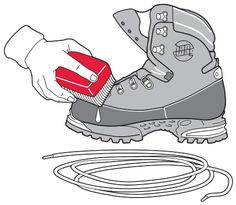 Cleaning & Care of your footwear