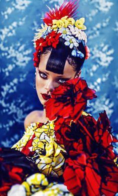 Rihanna Harpers Bazaar China
