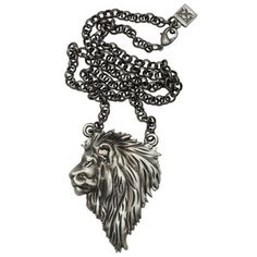 Lion King Necklace Black from the Kitsch'n'kouture line by Lesllie Homan, the design powerhouse behind Femme Metale . . . 'cause I'm a Leo, bay-bee!