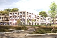 "RESIDENTIAL DISTRICT ""ROTE WAND"" - Mijic Architects"