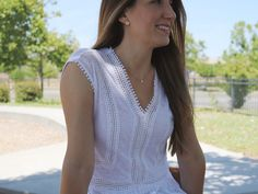 Summer whites – She Knows Chic