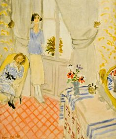 Henri Matisse - Le Boudoir, 1921 at Musée de l'Orangerie Paris France | by mbell1975