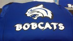Bobcats - sports - athletics -Champion Hoodie - apparel - t-shirt - tee shirt - design - screen print - screenprint - Kearney Nebraska - Shirt Shack - www.shirtshackkea...
