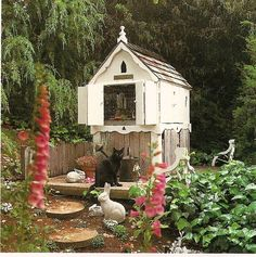 Rabbit hutch-Would luv to build this for Peter & Sable