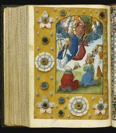 The Hours of Dona Violante, Use of Rome, in Latin and Catalan [Spain (Valencia) and southern Netherlands (Bruges), c.1480]