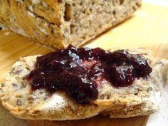miejscy roślinożercy: Chleb z siemieniem lnianym (na zakwasie!)
