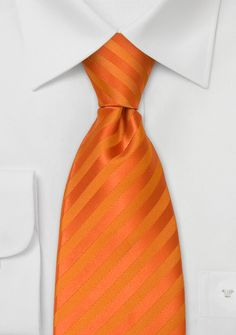 Bright Orange Neckties