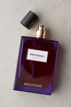 Molinard Eau De Parfum ---Patchouli: light patchouli trailed by woody and copper notes--#anthropologie