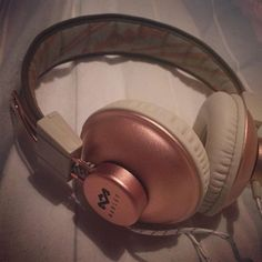 New House of Marley headphones  #houseofmarley #headphones #rosegold #bobmarleylove via Headphones on Instagram - Best Sound Quality Audiophile Headphones and High-Fidelity Premium Earbuds for Hi-Fi Music Lovers by AudiophileCans