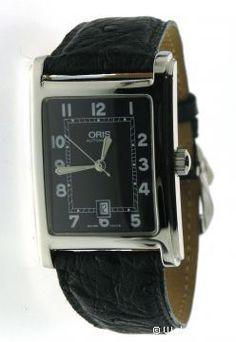 Oris Andere Uurwerken horloges CLASSIC RECTANGULAR 583 7460 40 94 LB Watchbox Knokke Antwerpen