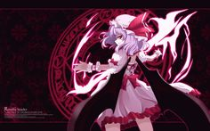 Animated Remilia Scarlet Wallpaper