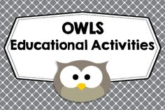 OWL lessons, crafts, and learning activities---- mostly for K-6, crafts, art ideas, clip art, stationery, classroom art ideas, all owls. Collaborative Pinterest Board