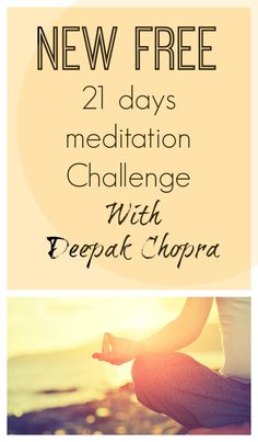 For this new challenge, which begins April 10 the new theme is: Hope in Uncertain Times. I just think it's going to be a great one, I can't wait to start ! Find out more here : http://www.nobletandem.com/new-free-21-days-meditation-challenge-deepak-chopra-2/
