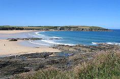 Beach at Harlyn Bay, Cornwall