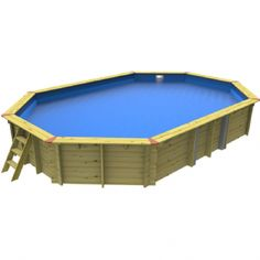 Wooden Swimming Pools Wooden Pool, Flexible Pipe, Blue Liner, Above Ground Swimming Pools, Installation Manual, Construction, Ideas, Building, Ground Pools