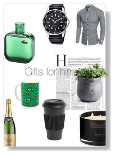 """In green"" by lucifuk on Polyvore featuring Homage, My Spirit Garden, The White Company, men's fashion and menswear"