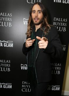 Jared Leto - Focus Features and MAC Viva Glam celebration of Dallas Buyers Club
