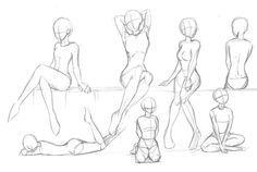 Coole Posen zum zeichnen