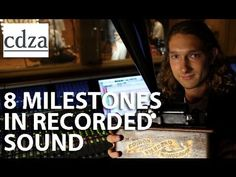 8 Milestones in Recorded Sound | cdza [via @Boing Boing]  Interesting presentation that condenses a lot into a short amount of time.     ...but I have quibbles. My biggest complaint: He mentions Edison, Berliner and Dolby...but not Les Paul, who invented multi-track recording. Boo! Plus it's a little weird to go from discs to cassette w/o open reel tape. And who records the radio in their car? Srsly.