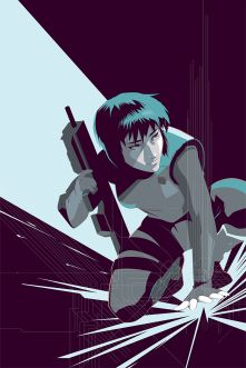Ghost in the Shell by Craig Drake ©2014