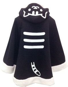 Kawaii Cat Hoodie Cloak Cape SP168284