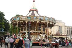 Carousel in Paris, France